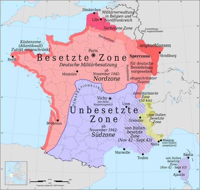 2 Weltkrieg Deutschland Frankreich